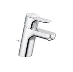 Смеситель для раковины однорычажный c донным клапаном Kludi Pure&Easy 372890565 фото