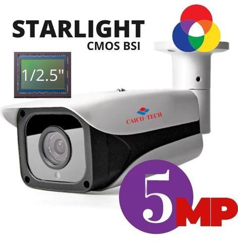 Уличная STARLIGHT видеокамера наружного наблюдения следующего поколения CAICO TECH 5D50T 5.0 Mpix