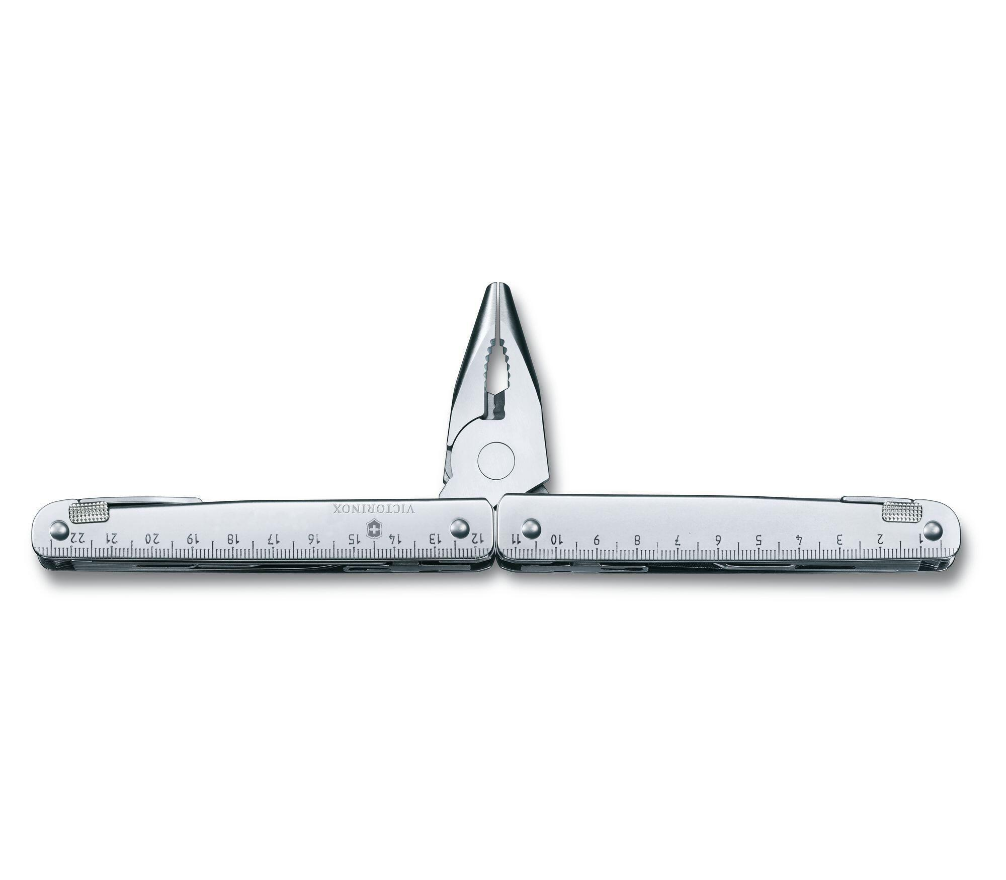 Мультитул Victorinox SwissTool X Plus (3.0338.L) с набором бит, Г-образным ключом и штопором   Wenger-Victorinox.Ru