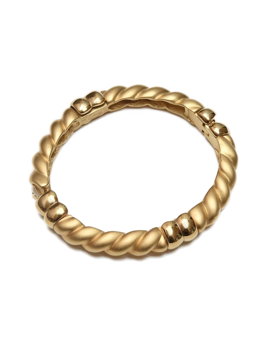 Винтажный браслет Givenchy золотого цвета