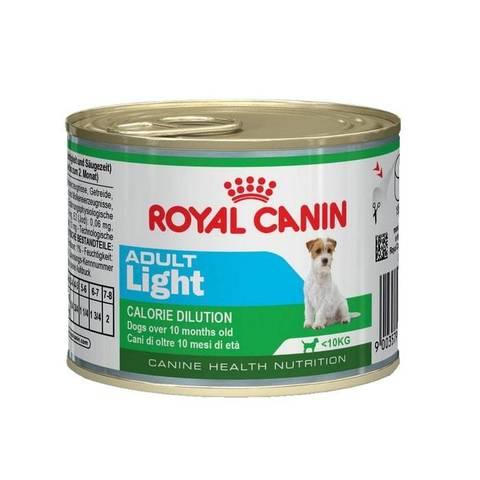 ROYAL CANIN Консервы для взрослых собак с предрасположенностью к полноте Adult Light
