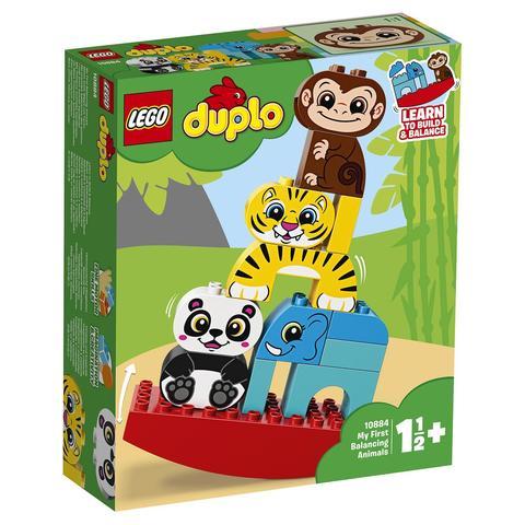 LEGO Duplo: Мои первые цирковые животные 10884 — My First Balancing Animals — Лего Дупло