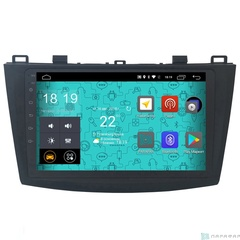 Штатная магнитола 4G/LTE Mazda 3 09-12 Android 7.1.1 Parafar PF034