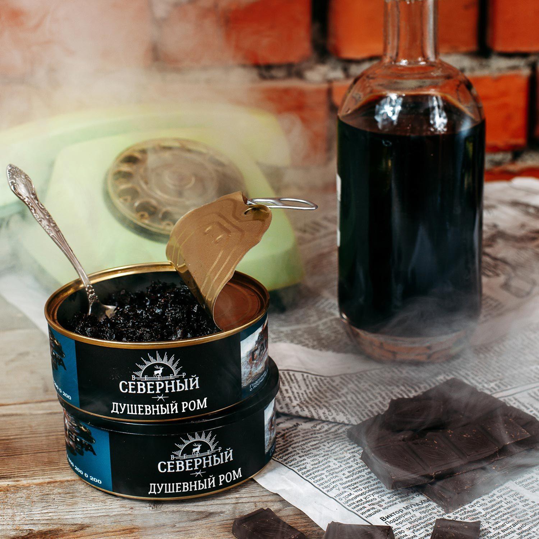 Табак для кальяна Северный Душевный ром 100 гр