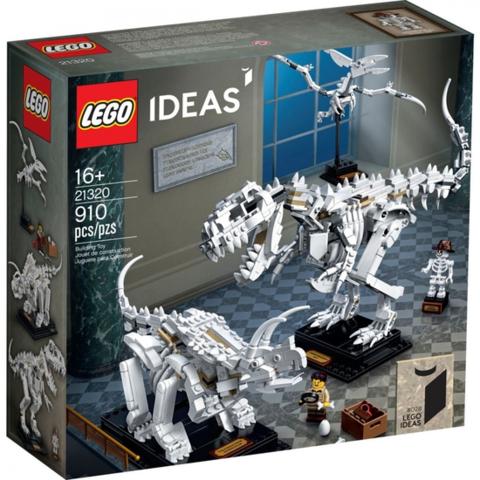 LEGO Ideas: Кости динозавра 21320 — Dinosaur Fossils — Лего Идеи