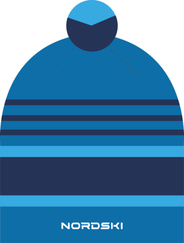 Шапка Nordski Bright Blue