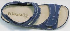 Синие сандали спортивные женские Inblu CB-1U Blue.