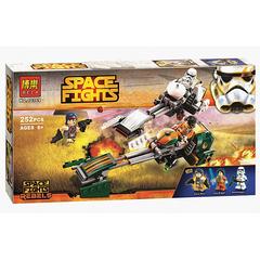 Конструктор Звездные Войны 10369 Скоростной Спидер Эзры Бриджера, 252 дет.
