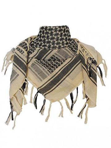 Шемаг (арафатка, куфия) песочно-черный