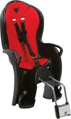 Детское велокресло Hamax Kiss Medium черный/красный