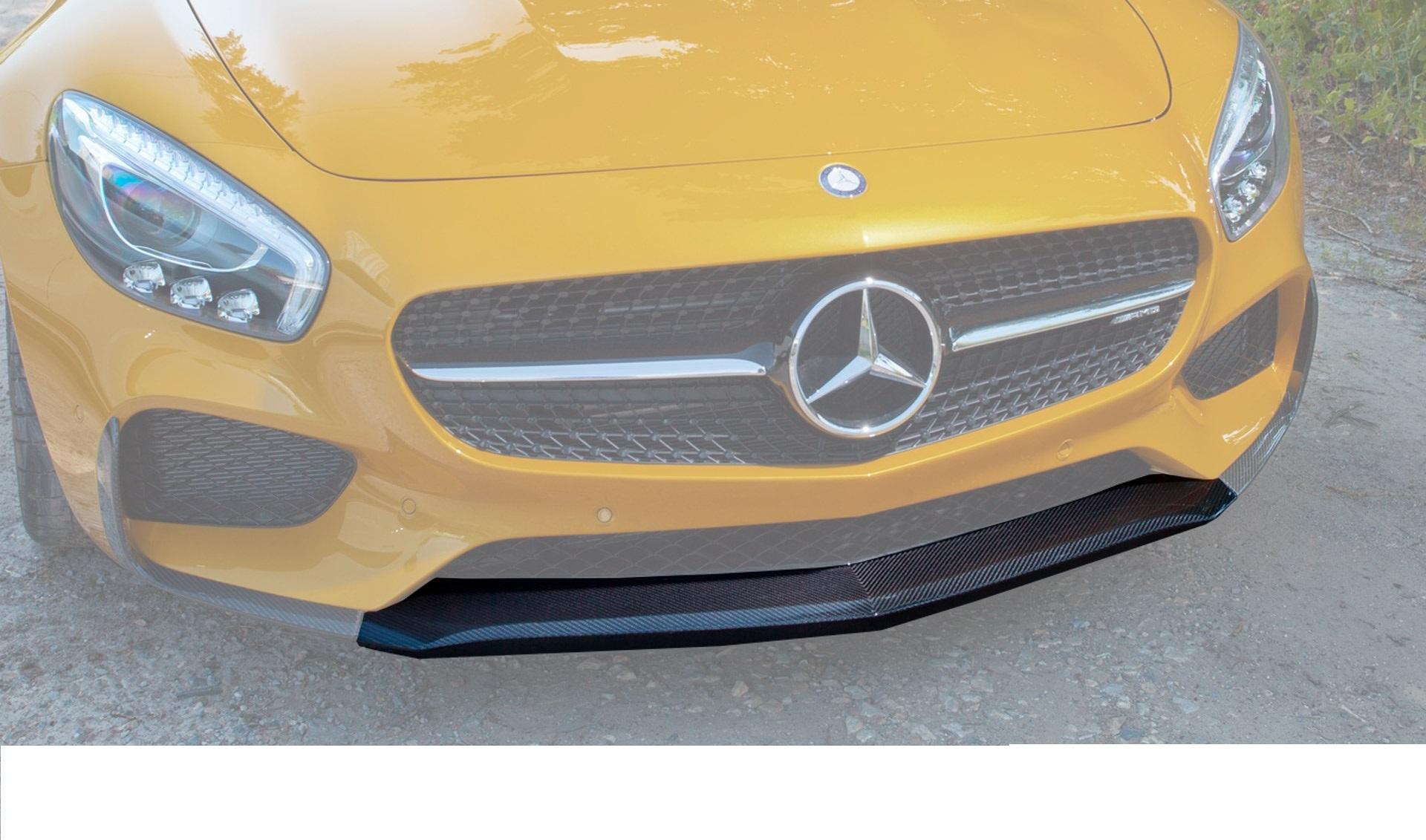 Карбоновый спойлер переднего бампера Edition 1 Style для Mercedes GT-class C190