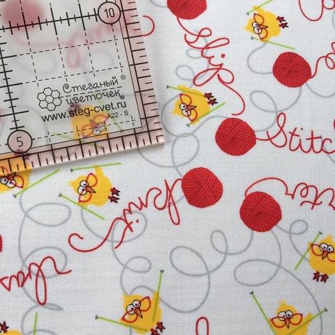 Ткань для пэчворка, хлопок 100% (арт. TT0801)