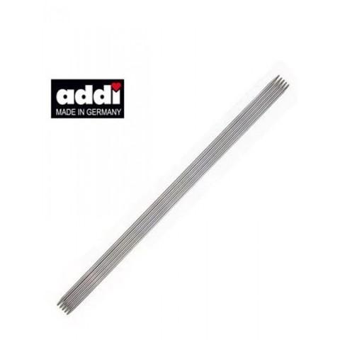 Спицы, чулочные, сталь №1.5, 20 см. 5 шт ADDI Германия арт.150-7/1.5-20