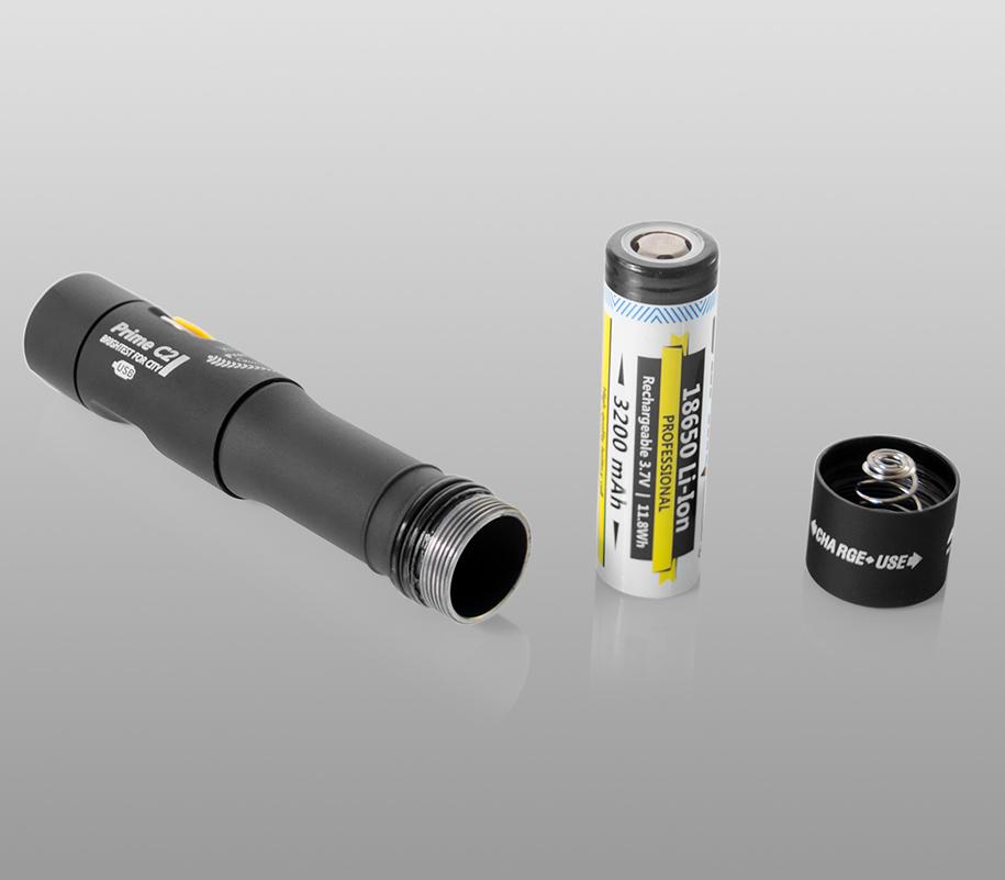 Фонарь на каждый день Armytek Prime C2 Magnet USB (тёплый свет) - фото 5