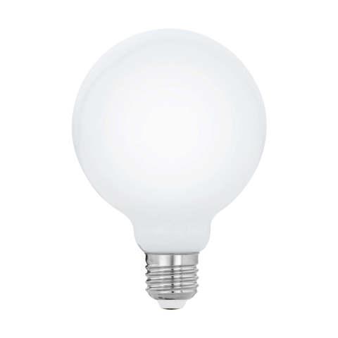 Лампа  LED филаментная из опалового стекла  Eglo MILKY LM-LED-E27 8W 1055Lm 2700K G95 11767