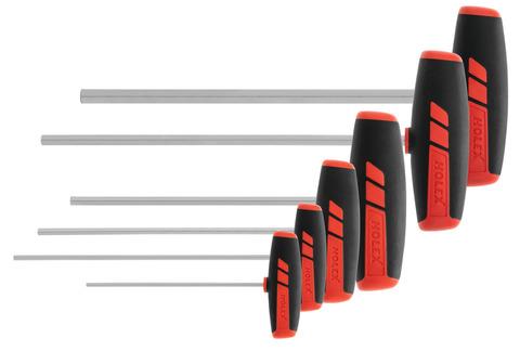 Набор 6-гранных отвёрток и ключей хромированные