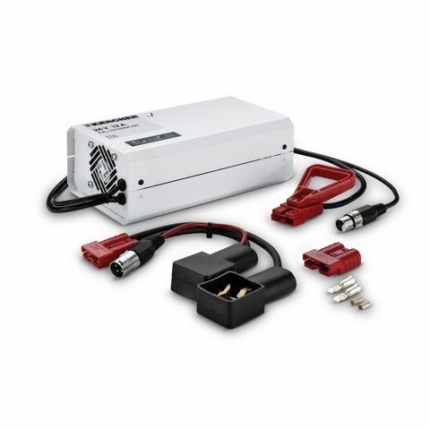Зарядное устройство Karcher 24 В, автовольтаж, для малообслуживаемых батарей 80 Ач, 24 V