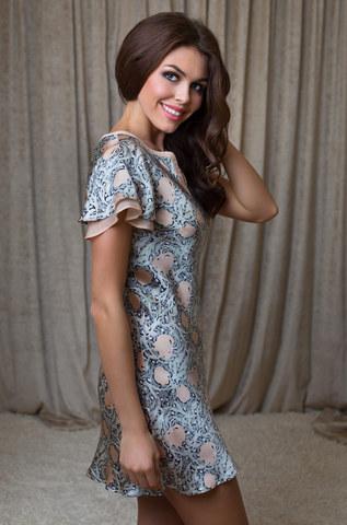 Туника сорочка женская MIA-MIA Dior ДИОР 15085