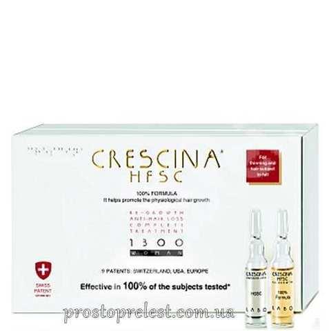 Crescina HFSC Re-Growth + Crescina Anti-Hair Loss HSSC - Полный курс при выпадении и для восстановления роста волос 1300, формула для женщин