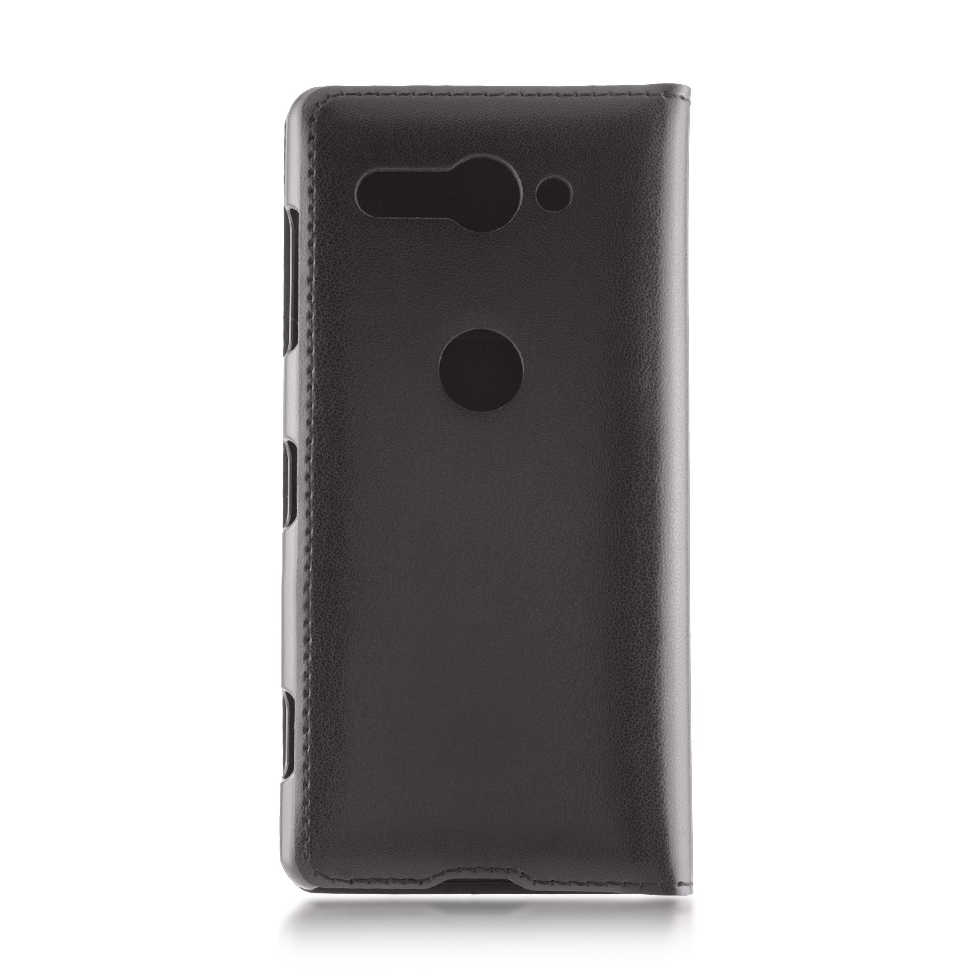 Чехол-книжка для Xperia XZ2 Compact чёрного цвета в Sony Centre Воронеж