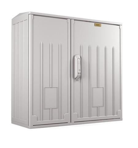 Электротехнический шкаф полиэстеровый IP54 антивандальный (В800 × Ш800 × Г250) EPV с двумя дверьми