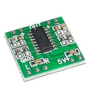 Миниатюрный двухканальный аудио усилитель PAM8403