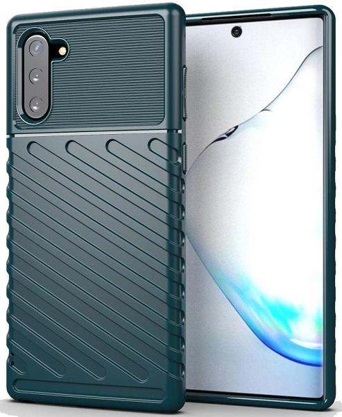 Чехол для Samsung Galaxy Note 10 зеленого цвета, серия Onyx от Caseport