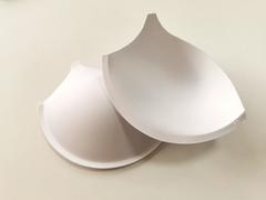 Чашки, с уступом под бретель, пуш-ап, белые, (Арт: АС50-001.85В), 75D, 80С, 85В, 90А