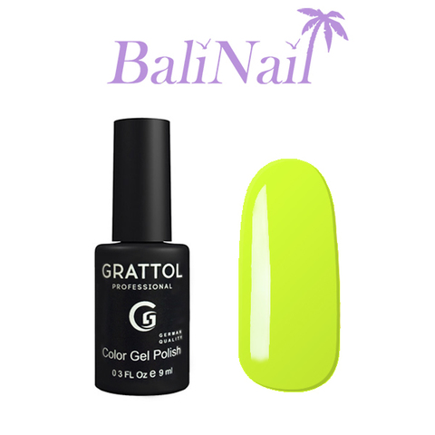 Grattol Color Gel Polish Pastel Lemon - гель-лак 035, 9 мл