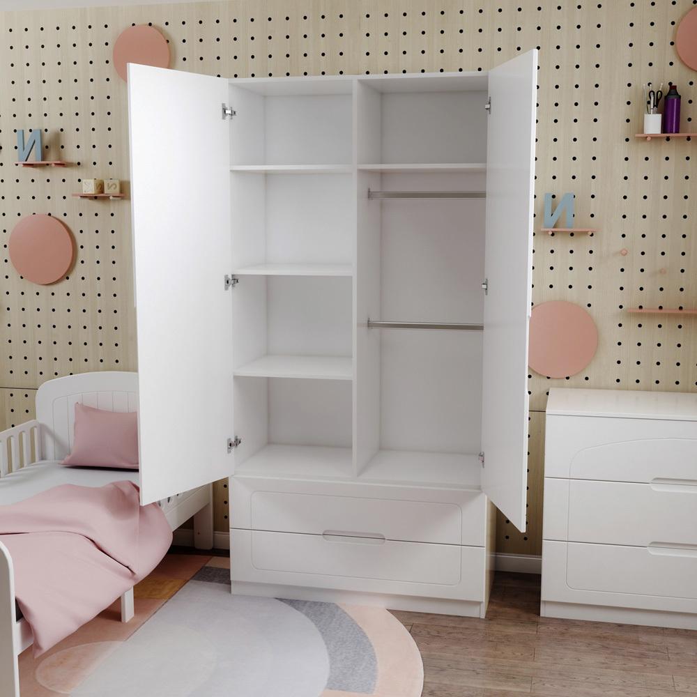 Шкаф детский Феалта-baby Вена Белый