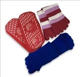 Набор носочков для дома: турмалиновые, массажные и «5 пальцев» для сна