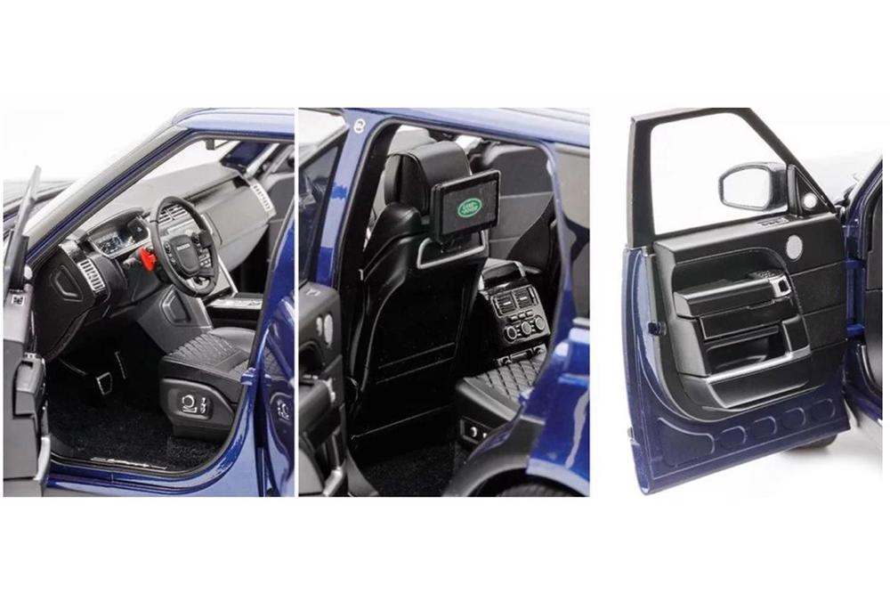 Коллекционная модель RANGE ROVER VOGUE SUPERCHARGE AUTOBIOGRAPHY 2019 BLUE