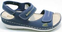 Молодежные сандали в спортивном стиле женские Inblu CB-1U Blue.