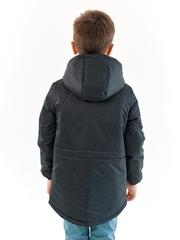 Парка зимняя для мальчика Мембрана черный