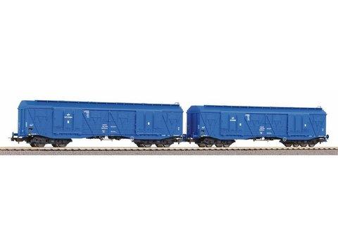 Набор из 2-х грузовых вагонов повышенной емкости 401Ka Gags-t, PKP Cargo VI