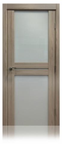 Дверь №10Х триплекс белый (капучино мелинга, остекленная экошпон), фабрика Profil Doors