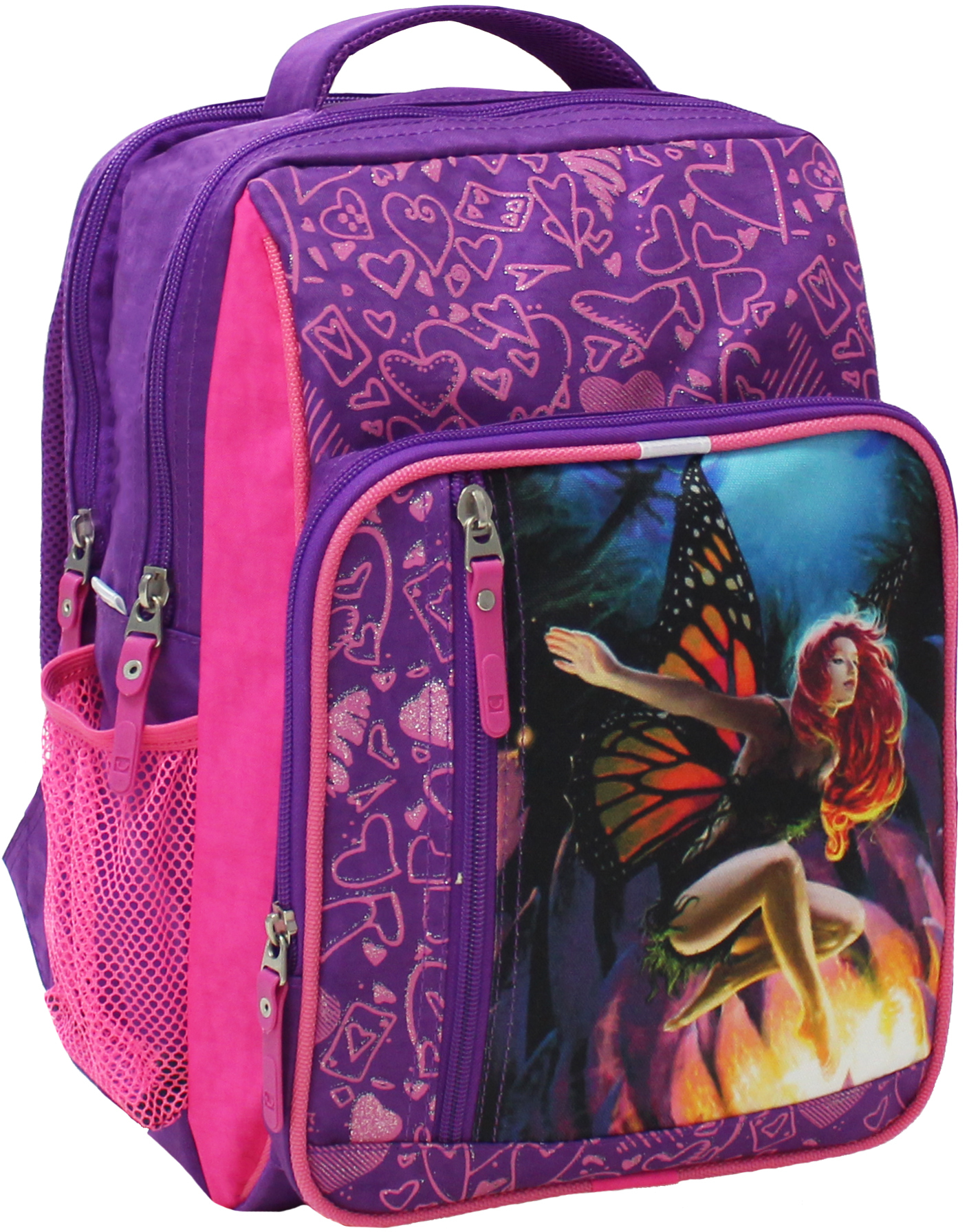 Школьные рюкзаки Рюкзак школьный Bagland Школьник 8 л. Фиолетовый (27д) (00112702) IMG_5207.JPG