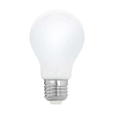 Лампа  LED филаментная диммируемая из опалового стекла Eglo MILKY LM-LED-E27 7W 806Lm 2700K A60 11768