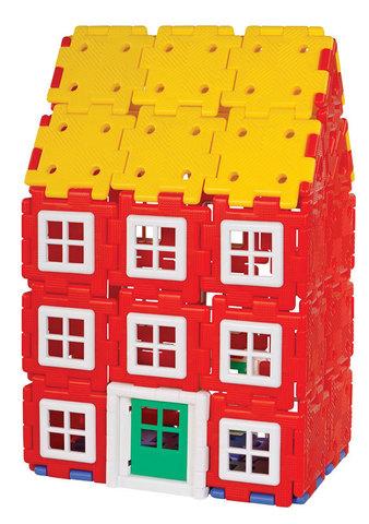 Набор Полидрон Гигант «Строительство дома» 2-7 лет