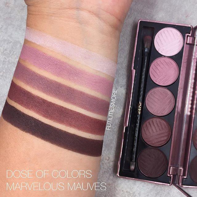 Dose Of Colors Marvelous Mauves palette