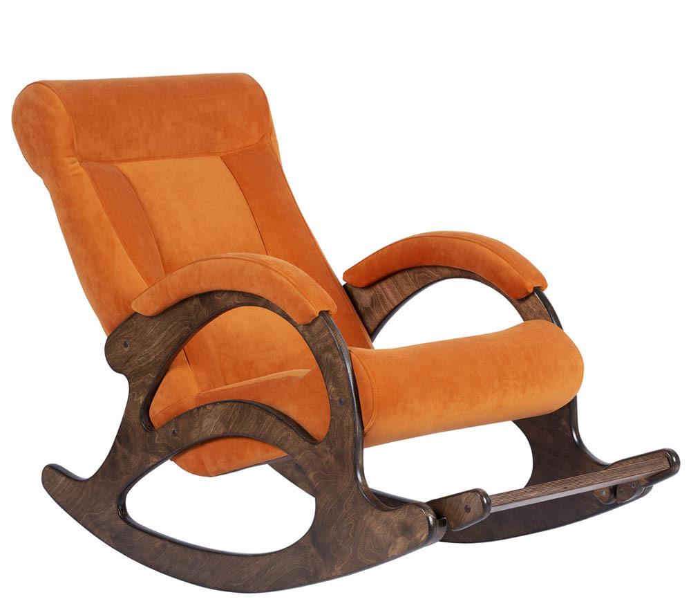 Классические Кресло-качалка Симфония Ткань (Carrot juice) simfony-carrot-juice-1.jpg