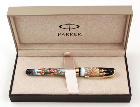 Ручка расписная Паркер