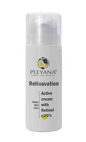 Активный крем с Ретинолом 0,25% RETINOVATION 30мл