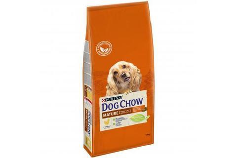 Сухой корм Purina Dog Chow Mature Adult для собак старше 5 лет, курица