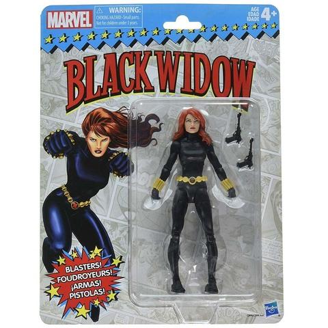 Черная Вдова 15 см. Ретро коллекция Марвел