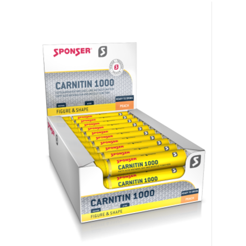 Sponser L-карнитин 1000 в ампулах (30х25мл)