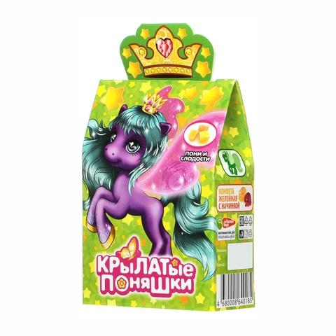 Мармелад жев с игрушкой КРЫЛАТЫЕ ПОНЯШКИ 5 гр кор