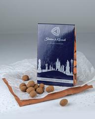 Миндаль в темном шоколаде с какао 100 г, Чехия