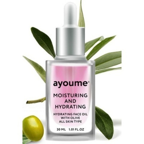 AYOUME moisturing & hydrating face oil with olive Масло для лица увлажняющие