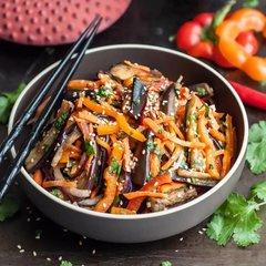 Овощи по-китайски без мяса / 350 мл